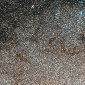 A shot of the massive amount of stars in a tiny corner of Andromeda.