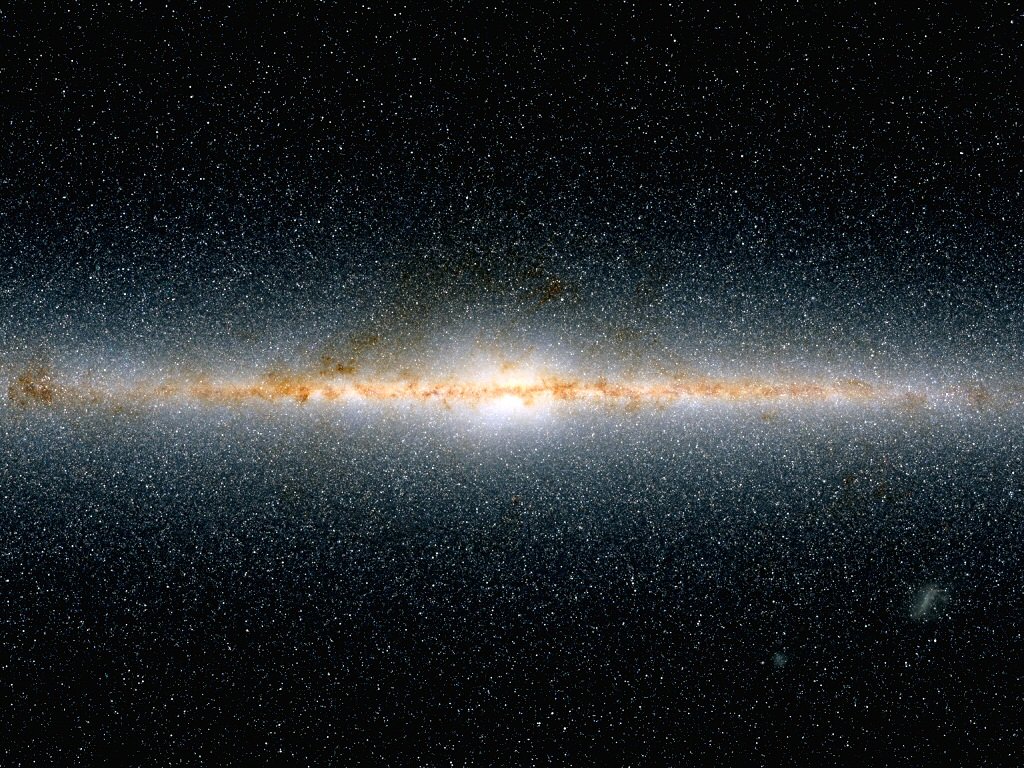 milky way from space - photo #28