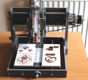 Chocolate 3-D printer