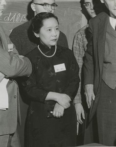 Chien-Shiung Wu (1958) at Columbia University