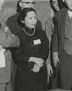 Chien-Shiung Wu (1958) at Columbia University