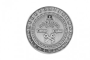 Symbol of Caeser Cipher. Credits: www.amazon.com